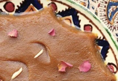 cuisine iranienne avec le halva iranien, dessert iranien,