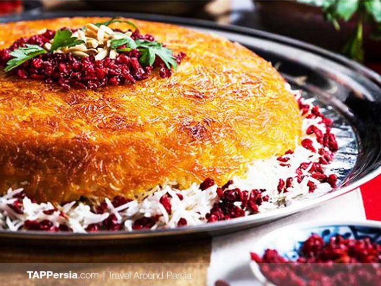 épine vinette dans une recette iranienne